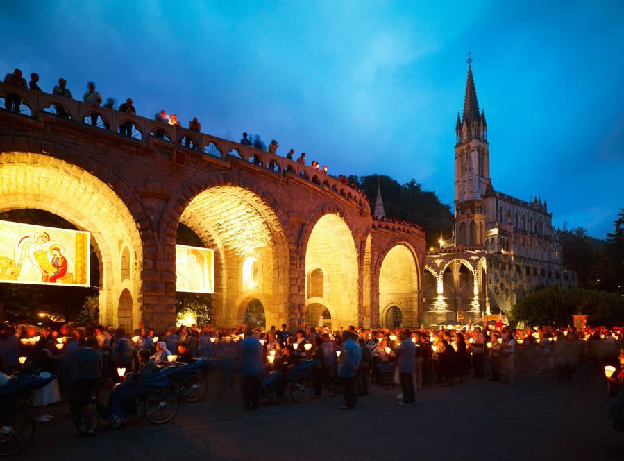 Lourdes, une ville mondialement connue